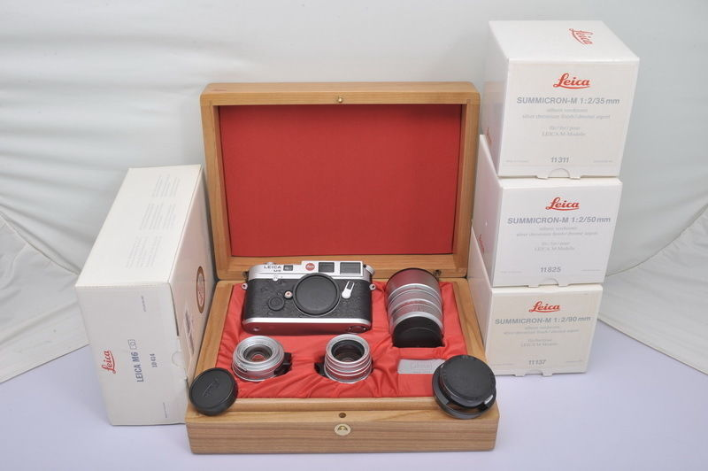 Leica M6 LHSA 25th Anniversary Set