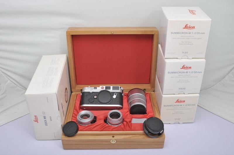 Leica M6 LHSA 25th Anniversary Set