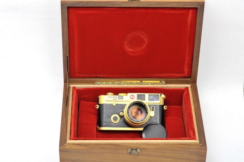Leica M6 Sultan of Negeri Brunei Darussalam set