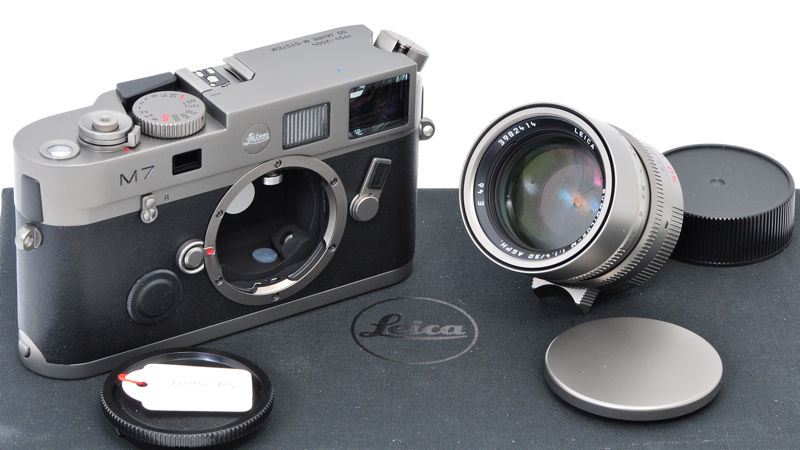 Leica M7 Titanium with 1.4:50mm ASPH 50 years