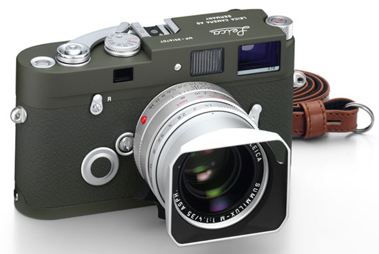 New Leica MP and X2 olive limited edition cameras