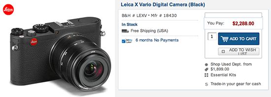 Leica-X-Vario-camera-price-drope-sale