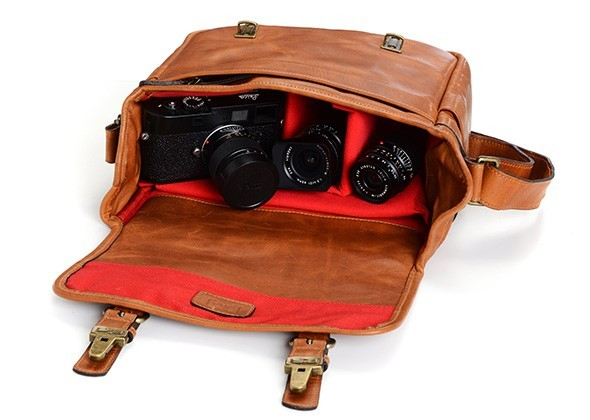 ONA Berlin - Leica M-System Leather Camera Bag 5