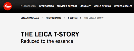 Leica-T-camera-website