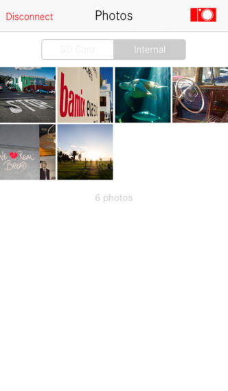 Leica T iPhone app 5