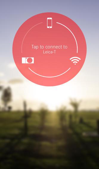 Leica T iPhone app