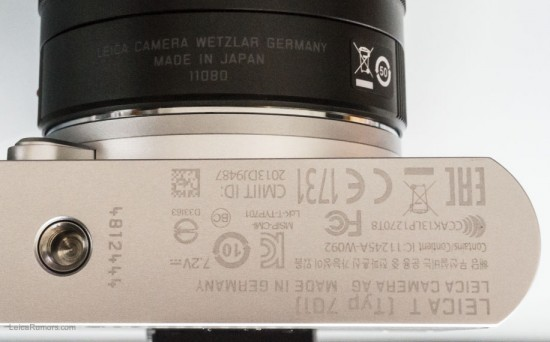 Leica T typ 701 mirrorless camera hands-on review 4