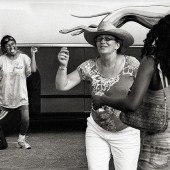 04_021_Dancers By Bus, Austin, Texas, 2010