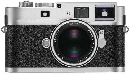 Leica-M-Monochrom-camera-silver-chrome-finish