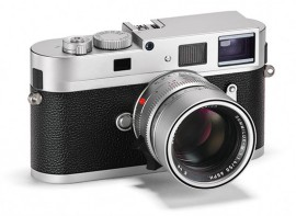 Leica-M-Monochrom-camera-with-silver-chrome-finish