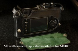 Leica M9 with Screen Flap
