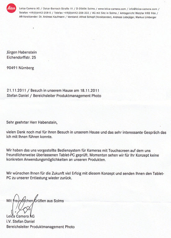 Leica-letter