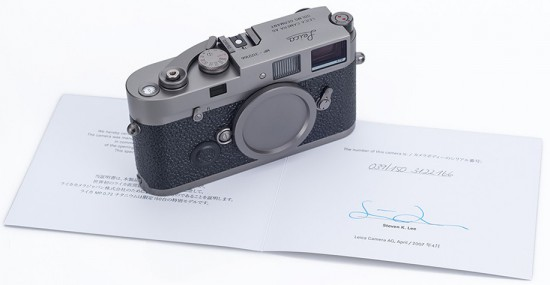 Leica-MP-Titanium-limited-edition-camera