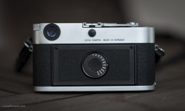 Leica MP silver rangefinder camera
