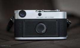 Leica MP silver rangefinder camera