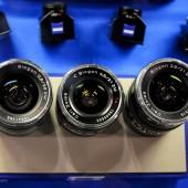 Zeiss ZM rangefinder camera lenses for Leica M mount