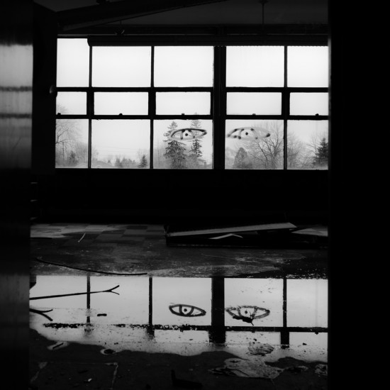 Ghost on the Horizon: exploring unseen spaces with the Leica M240