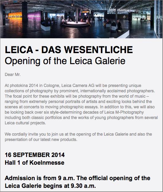 Leica-Das-Wesentliche-event-at-Photokina