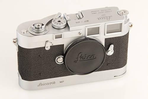 Leica MP chrome camera