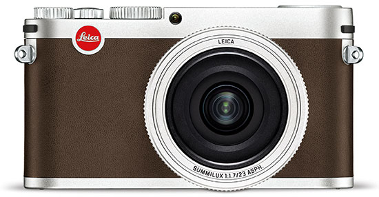 Leica-X-camera-silver-front