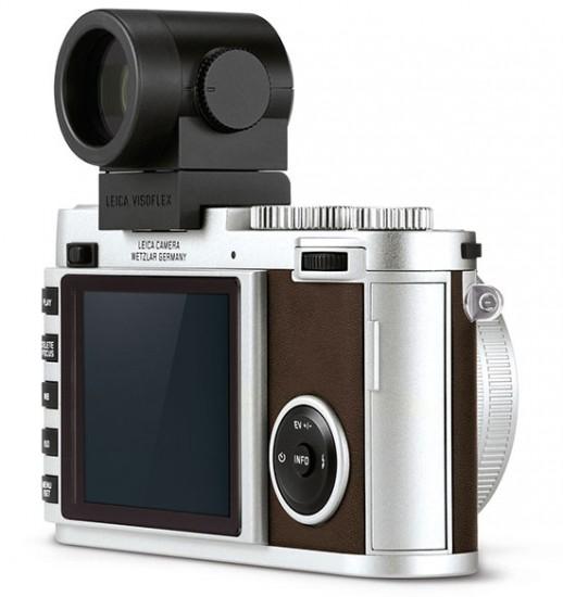 Leica-X-camera-silver-visoflex