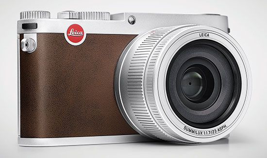 Leica-X-camera-silver
