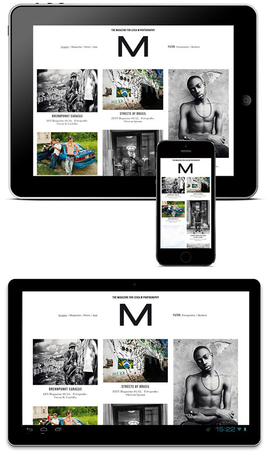 S-magazine App | By Leica