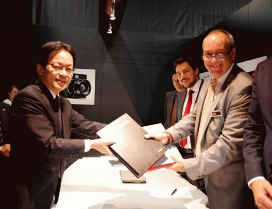 Panasonic and Leica Camera Partnership