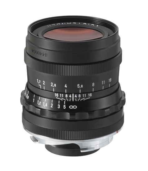 Voigtländer 35mm f:1.7 Ultron lens