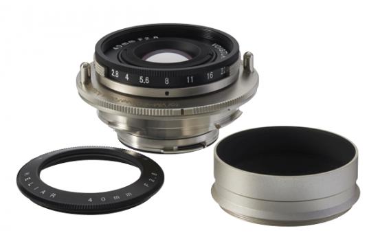 Voigtländer 40mm f:2.8 Heliar lens