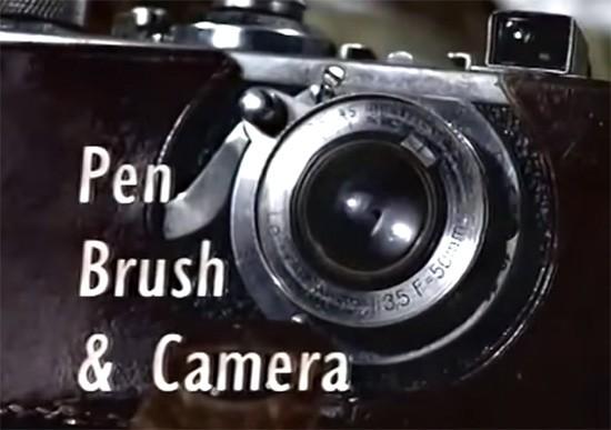 Henri-Cartier-Bresson-Pen-Brush-and-Camera-documentary