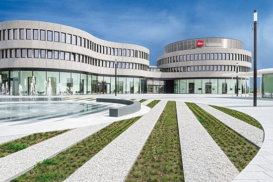 Leica-Camera-AG-building-in-Wetzlar