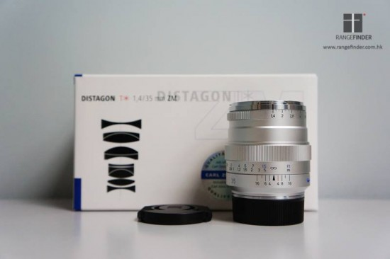 Zeiss Distagon T 1,4:35 ZM lens 2
