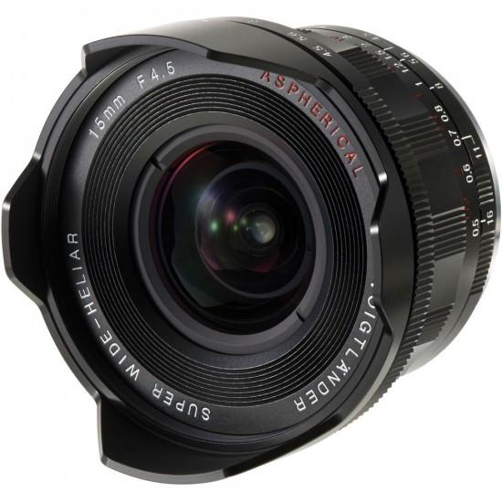 Voigtlander Heliar 15mm f:4.5 VM III lens for Leica M