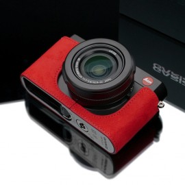 Gariz-alcantara-AT-DLUX-half-case-for-Leica-D-LUX-camera-red-5