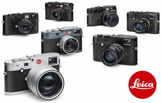 Leica-M-camera-family