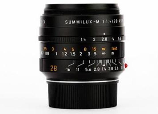 Leica Summilux-M 28mm f/1.4 ASPH lens