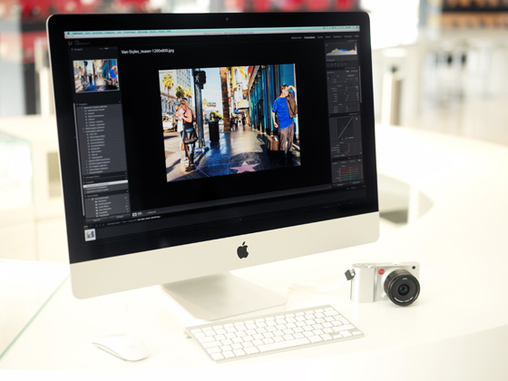 Leica cameras now come with the new Adobe Lightroom 6