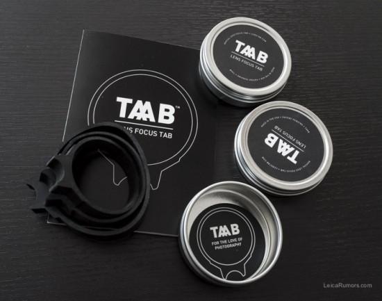 TAAP lens focus tab1