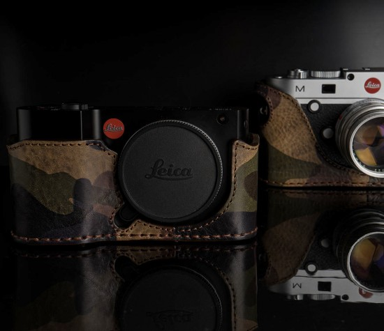 Angelo Pelle half case models for Leica T camera 3