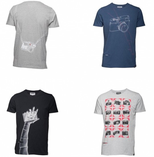 Leica-inspired T-shirts