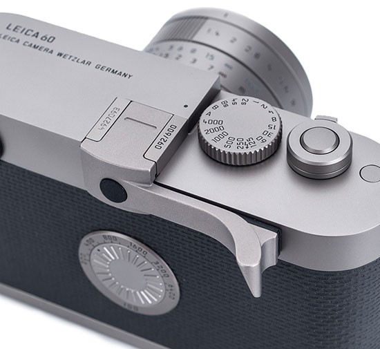 Titanium-Thumbs-Up-EP-60-for-the-Leica-M-Edition-60-camera