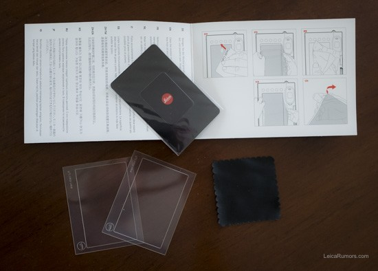 Leica Q screen protector