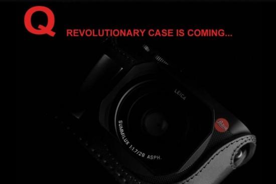 Angelo Pelle half case for Leica Q camera