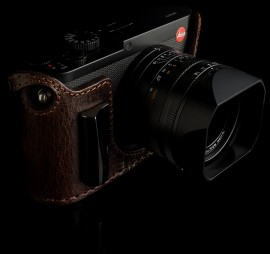 Angelo Pelle half cases for Leica Q camera 5