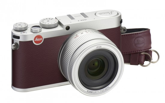 Leica X Maroon limited edition camera