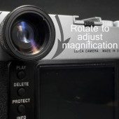 MGR Production zoomable viewfinder magnifier for Leica M cameras 2