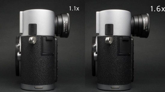 MGR Production zoomable viewfinder magnifier for Leica M cameras 4