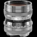 Voigtländer 35mm f:1.7 Ultron VM lens silver