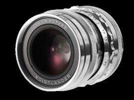 Voigtländer 35mm f:1.7 Ultron VM lens silver 2